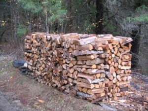 Golden Pine Straw | Firewood